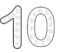 Cijfer 6 Kleurplaat Free Numbers Coloring Pages From Sherriallen Com