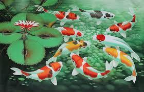 paintings of koi fish koi fish painting wallpaper