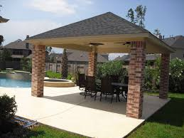 free standing covered patio designs. Beautiful Covered Covered Patio Roof Ideas  Free Standing Covers Gazebos And Pool  CabanasBilly Parker  For Standing Designs N