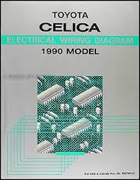 toyota celica wiring diagram manual original