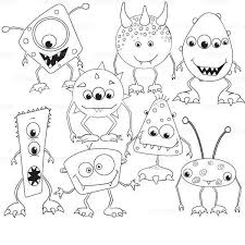 Pin On Monsters Dolls Coloring Pages Art Coloring For Kids