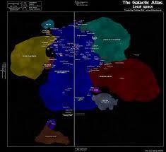 Star Trek Galaxy Chart Star Trek Galaxy Map The Trek Bbs
