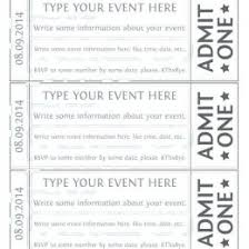 Avery Event Tickets Event Ticket Ideas Pics How To Give A Ticket As A Gift