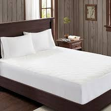 Woolrich Sherpa Knitted White Heated Mattress Pad - King 8302181 | HSN