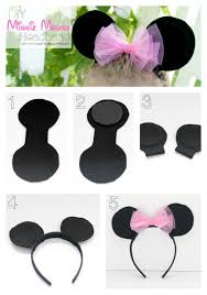 how to make a minnie mouse ears headband on girllovesglam com