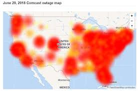 Fiber Cut Triggers Multi State Internet Outage For Comcast