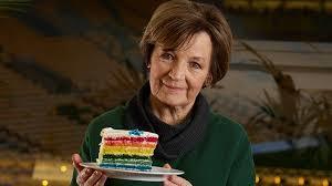 Delia Smith bakes rainbow cake to support LGBT inclusivity in sport... -  Aviva plc