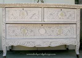 painted furniture makeover gold metallic. Painted Dresser Annie Sloan Chalk Paint1803 Furniture Makeover Gold Metallic