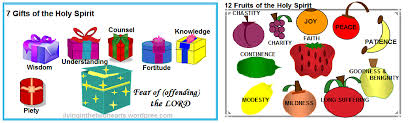 gifts and fruits of the holy spirit e and receive