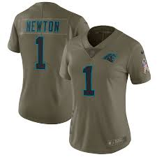 Womens Blue Cam Newton Jersey