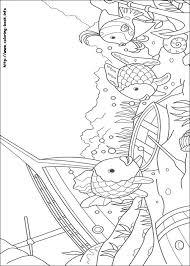 imposing design rainbow fish coloring page printable 17 pages 5136 index coloring pages