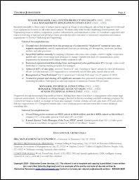 Telecom Resume Examples Sample Telecommunication Executive Resume 2