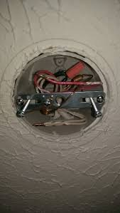 Light Fixture Crossbar Need Some Assistance On Replacing A Light Fixture Home
