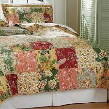Floral Paisley Patchwork Quilt / Floral Paisley Quilt Set -- Orvis UK & Floral Paisley Quilt Set Adamdwight.com