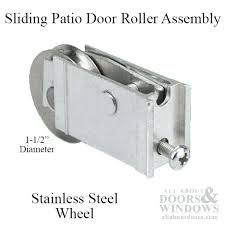 sliding patio door rollers extruded sliding glass door roller assembly stainless steel roller how to change