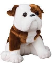 bulldog plush stuffed animal hardy saltypawscom