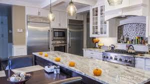 fantasy brown quartzite kitchen counter