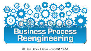 Business Process Reengineering Concept Image With Text And Gears