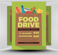 Food Drive Flyers Templates Food Drive Event Flyerheroes