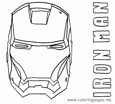 Iron man coloring pages for kids. Iron Man Coloring Pages Forcoloringpages Com Coloring Home