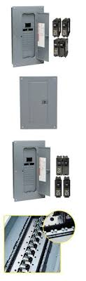 circuit breakers and fuse boxes 20596 square d 100 amp 20 40 Circuit Breaker Fuse Box circuit breakers and fuse boxes 20596 circuit breaker box panel electrical 100 amp 20 space fuse box and circuit breaker