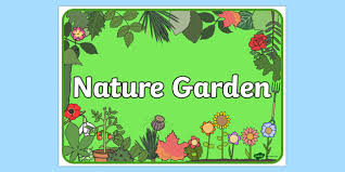 garden sign. nature garden sign - signs, labels, plants, trees, flowers i