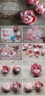 Peony Paper Flower Diy Paper Peony Paper Flower Tutorial Paper Flowers Diy