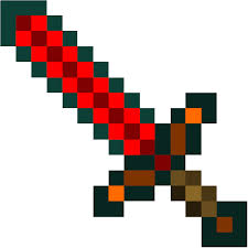 Small Picture Minecraft Sword Coloring Pages creativemoveme
