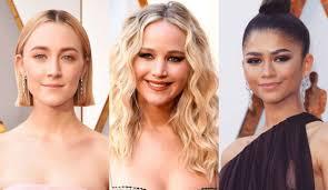 Oscars 2018 ทรงผมลคเดนจาก 5 นกแสดงสาวตวทอป