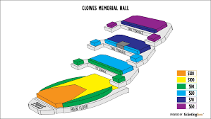 Clowes Hall Seating Chart Clowes Memorial Hall Of Butler University Seating Chart