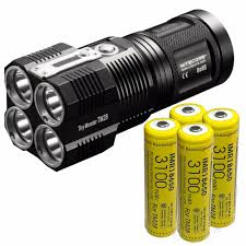 Hunting Lights For Sale Us 279 95 Sale Nitecore Tiny Monster Tm28 6000lm Cree Xhp35 Hi 4led Rechargeable Hight Light Flashlight For Gear Hunting Outdoor Searching In Led