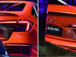 2021 Honda Civic New Gen First Official Teaser - Debut On 17th Nov