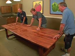 How To Make A Dining Room Table How To Build A Dinner Table How Tos Diy