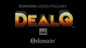 dealq premium 5 letter dot domain name logo from 1doma in 1domain
