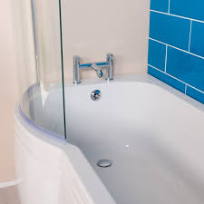 Rechts Links Pl Förmige Badezimmer Dusche Badewanne Duschwand 1500
