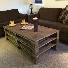 pallet coffee table with storage 2018 diy pallet coffee table plans