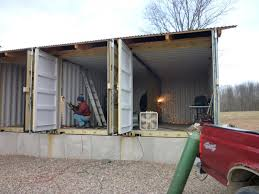 Live In Shipping Container In How To Build Tin Can Cabin