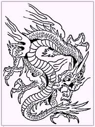 Printable Coloring Pages For Adults Dragons Printable Coloring