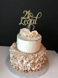 Topper And 40th In Cake 25th Cakes Birthday Cakes Legal Topper 21st 2019 Birthdays 21