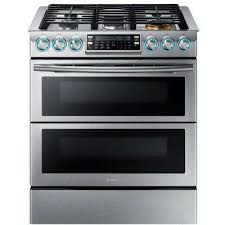 double oven with cooktop. Interesting With SlideIn Double Oven Gas Range With Self  In With Cooktop