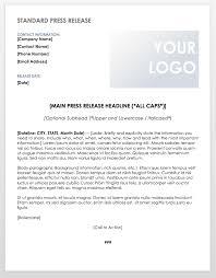 Free Press Release Templates Smartsheet