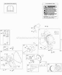 briggs and stratton 204412 0417 e1 parts list and diagram click to expand