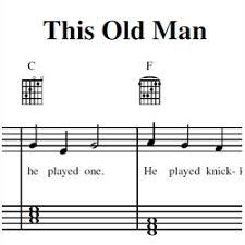 this old man piano sheet music this old man sheet music zebra keys blog