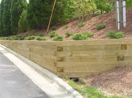 Small Picture timber angle retaining wall Applications of Retaining Wall