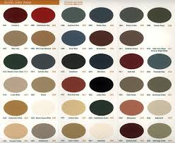 Old Century Paint Color Chart Colors And Sizes Can Be