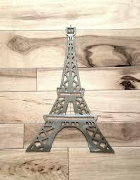 eiffel tower metal wall art paris decor eiffel tower decor paris throughout most