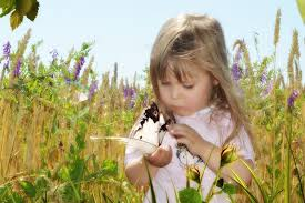 Image result for little girl and butterfly