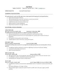 Example Lpn Resume Stunning New Grad Lpn Resume With No Experience Resumes Samples Examples