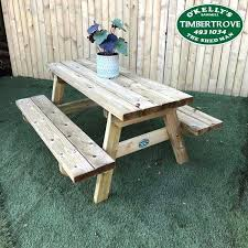 childrens picnic table zoom lifetime bunnings wooden nz