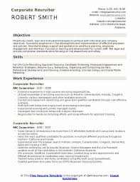 Applicant Resumes Corporate Recruiter Resume Samples Qwikresume
